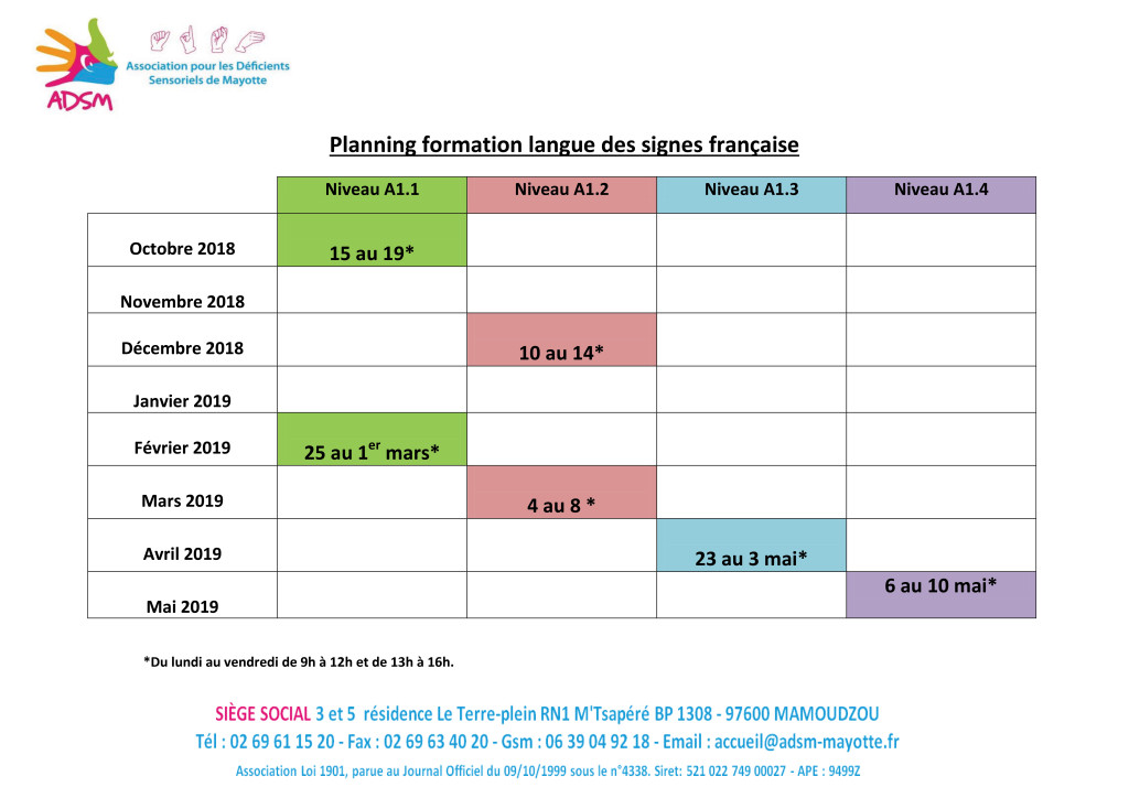 Planning-formation-lsf-2018-2019
